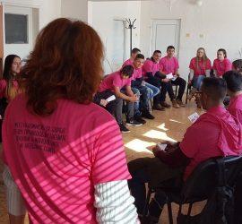 """Тренинг на тема """"Избирам доброто, не на насилието и тормоза в училище"""" проведе МКБППМН   с ученици от Професионалната гимназия"""
