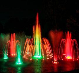 """Днес пускат пеещите фонтани до зала """"Арена Асарел"""""""