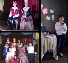 """Малките театрали представят пиесата """"Невероятните приключения на една принцеса"""""""