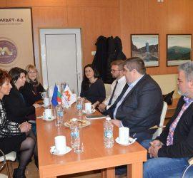 Културният аташе на американското посолство г-н Мат Хагенгрюбер се срещна с представители на бизнеса в Панагюрище