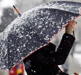 Обявен е жълт код за валежи от сняг в област Пазарджик