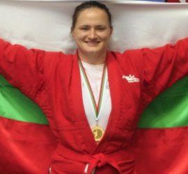 Панагюрското златно момиче Мария Оряшкова отново най-добра в света в самбото