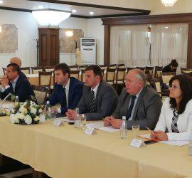 Областният управител Стефан Мирев получи подкрепата на РСР на ЮЦР за реализацията на пътни проекти в област Пазарджик