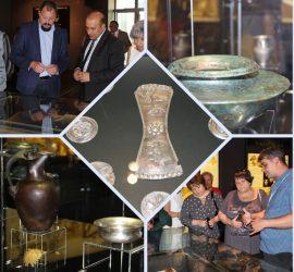 Изложба в музея показва за пръв път пълния комплект на Панагюрското сребърно съкровище