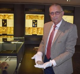 Панагюрското сребърно съкровище пристигна в музея