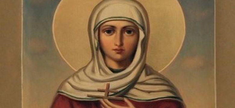Почитаме Света Великомъченица Христина