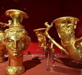 """Панагюрското златно съкровище ще гостува в """"Двореца"""" в Балчик през лятото"""