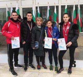 """Два златни и един сребърен медал за атлетите на КЛА""""Оборище"""" от крос Мездра"""