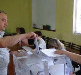 23.09% е избирателната активност в община Панагюрище