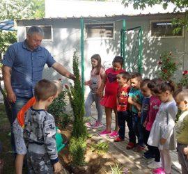 Кметът на Бъта подари дръвчета на местната детска градина по случай Празника на детето – 1 юни