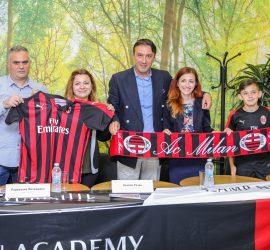 Дадоха старт на първото издание на Milan Academy Junior Camp – Bulgaria в Панагюрище