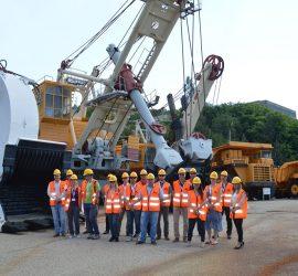 """Представители на минни компании от цял свят посетиха """"Асарел-Медет""""АД"""