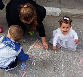 """С """"Весели рисунки на асфалт"""" в с.Бъта ще отпразнуват Деня на детето"""