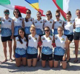 Бронз за България от международен турнир по плажен хандбал в Румъния. В националния отбор има четири панагюрки