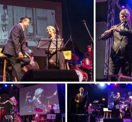 Красива музика, пълна със спомени подариха на панагюрската публика Хилда Казасян, Васил Петров и Теодосий Спасов