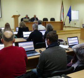 Днес Общински съвет-Панагюрище се събира на вероятно последно за настоящия мандат заседание