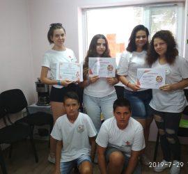 Шестима доброволци от БМЧК-Панагюрище участваха в Лятна академия в Китен
