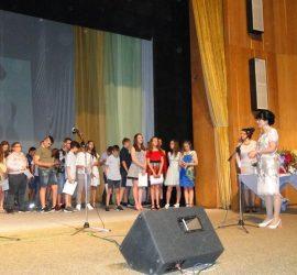 """Отличници от ОУ """"Проф. Марин Дринов"""" получиха плакети и парични награди от фонд """"Ваня Ангелова"""""""