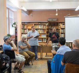 Фантасти от Пазарджик и приятели проведоха интересна среща в панагюрската библиотека