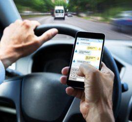 Започна aкция срещу незаконосъобразно ползване на телефони от водачите на автомобили