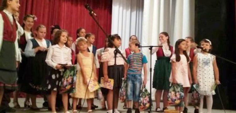 """""""Довиждане лято, здравей училище !"""" казаха децата от село Оборище"""