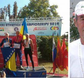 Атлети  ветерани от Панагюрище с медали и призови места от Балканиадата в Букурещ