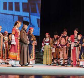 """Най-новият проект на ФА """"Родопа"""" Смолян –  музикално-танцовият спектакъл """"Невястата"""", гостува в Панагюрище"""
