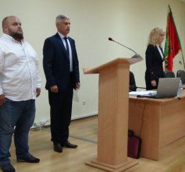 Стоян Палийски положи клетва като общински съветник на последното за този мандат  редовно заседание на местния парламент