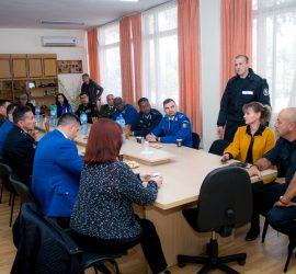 Ръководни служители на жандармерии от 11 страни на опознавателно посещение в Пазарджик