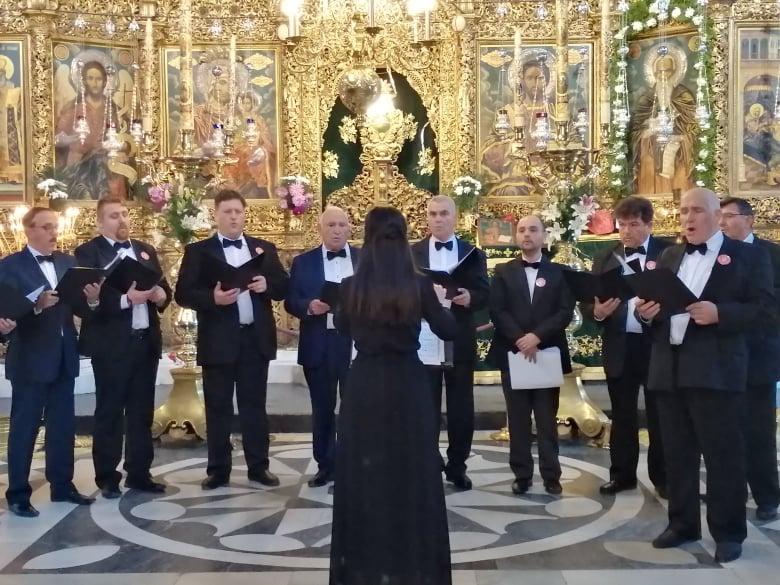 """Мъжки камерен хор """"Панагюрци"""" при ТД""""Бунай""""-Панагюрище със самостоятелен концерт днес в театъра"""
