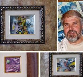 """Панагюрският художник Манол Панчовски ще участва с три творби в Седмото Международно биенале """"Изкуството на миниатюрата"""" в Русе"""