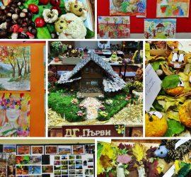 "Отличиха участниците в общинския ученически конкурс ""С даровете на есента"""