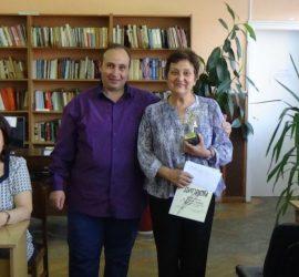 """Стихосбирката """"Шарени криле"""" на Стефка Данева ще бъде представена в панагюрската библиотека"""