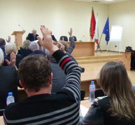 Общинските съветници ще получават възнаграждение при присъствие и участие в гласуването в 2/3 от общия брой на точките в дневния ред на заседанието на местния парламент