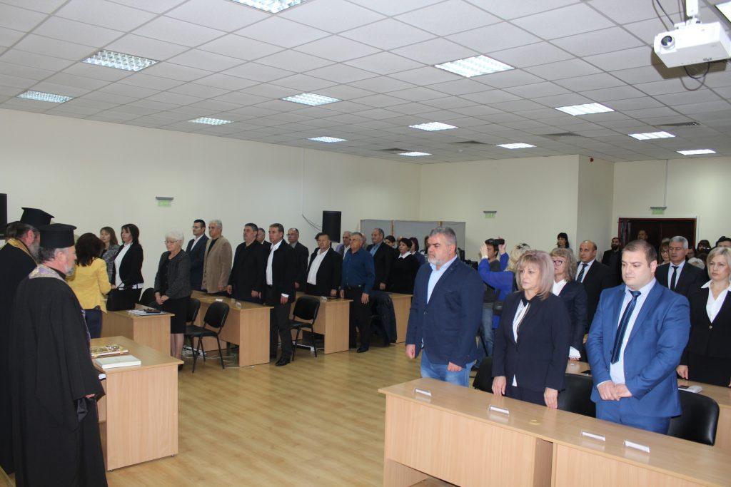 Новият Общински съвет в Панагюрище с първо редовно заседание на 21 ноември