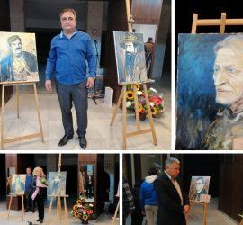 """""""Спомен за (НЕ)забравените"""" с картините в изложбата на художника Нистор Хаинов"""