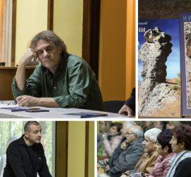 """Разказвачът на мистични истории Николай Нинов представи новата си книга """"Намерени от чудесата"""" в Панагюрище"""