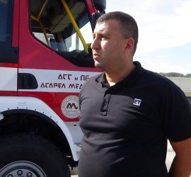 """Инж. Красимир Кръстев, инспектор """"Пожарна безопасност"""" в """"Асарел-Медет"""" е отличен за съществен принос за осигуряването на пожарната безопасност и защита на населението за 2019 г."""