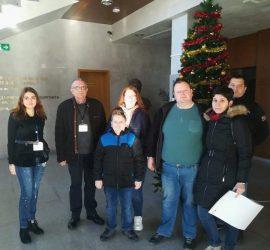 Гости от гр. Сливен са първите посетители в Исторически музей-Панагюрище за новата 2020г.