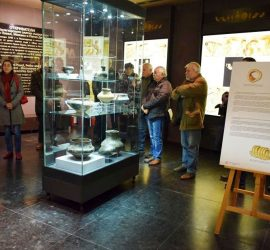 Изложбата, посветена на 80 години от проучванията на Селищна могила Юнаците беше открита в Исторически музей-Панагюрище