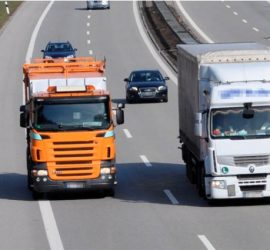 Тол таксите за масовия тежкотоварен транспорт ще са между 3 и 7 ст. на километър