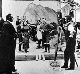 На 27 февруари 1897 г. в Русе е направена първата кинопрожекция у нас