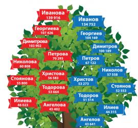 """""""Иванова"""" е най-популярната фамилия у нас"""