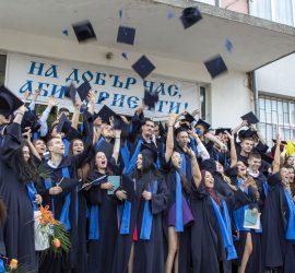 51 ученици от Випуск 2020 на ПГИТМТ получиха дипломите си за средно образование