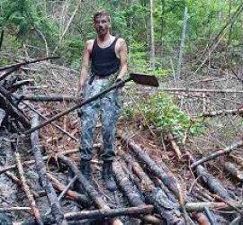 Иван Белишки влезе в огъня, за да спаси гора и село от пожар