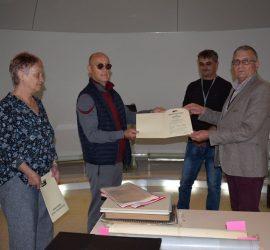 Исторически музей – Панагюрище получи като дарение документалния архив на Тодор Белчов
