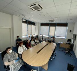 """Обучение за най-съвременно лечение на простатен карцином  се проведе в Онкологичния център на МБАЛ """"Уни Хоспитал"""""""