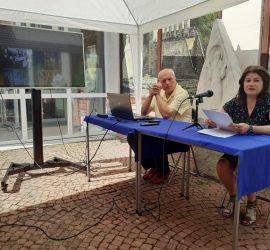 Историкът Ирина Ботева представи доклад за звръщането на златното съкровище в Панагюрище на национална конференция в Шумен