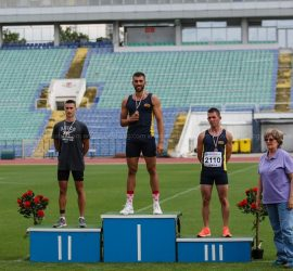 Лекоатлетът Иван Иванов завоюва сребърен медал в Националния шампионат по многобой