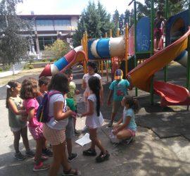 Летни забавления за децата, посещаващи ЦПЛР, сътворени с любов от ръководителите Паланкалиева и Иванов